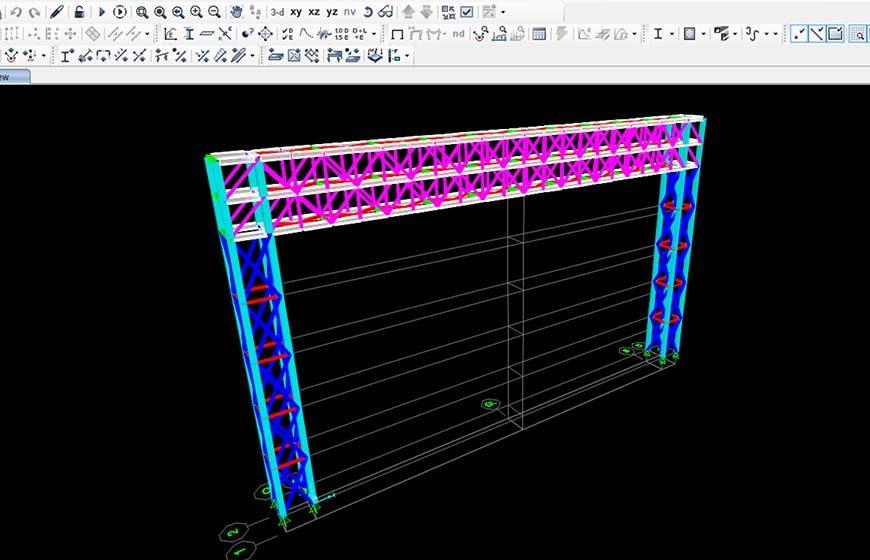 طراحی خط لوله کولینگ و برگشت کولینگ واحد ریخته گری(فولادسازی) فولاد مبارکه اصفهان