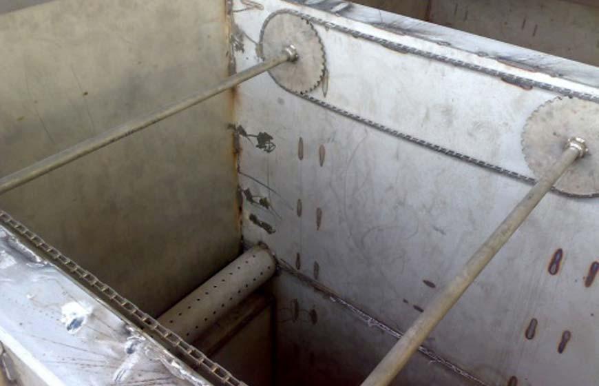 طراحی و ساخت پکیج DAF مجموعه غذایی معدن چادر ملو